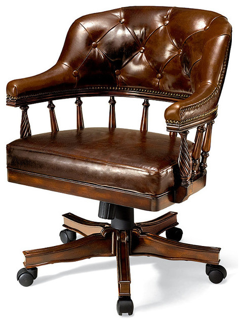 Tufted Burbank Game Chair traditional-paintings