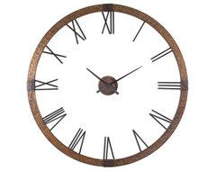 """www.essentialsinside.com: amarion 60"""" wall clock contemporary-clocks"""
