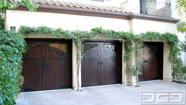 French style custom forged wood garage door hardware by for Home hardware french doors