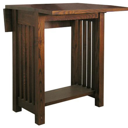 Drop Leaf Table Craftsman Dining Tables By Modern Furniture