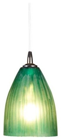 Jamie Young Silver Finish Sea Glass Dome Pendant Chandelier | LampsPlus.com contemporary-pendant-lighting