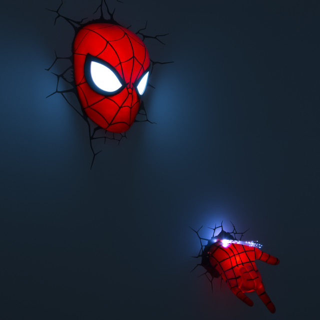 3DlightFX 3D Spiderman Mask and Hand Deco lights - Baby And Kids - other metro - by 3DlightFX