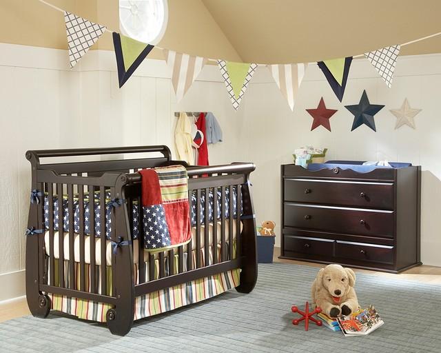 Serenity Convertible Crib traditional-cribs