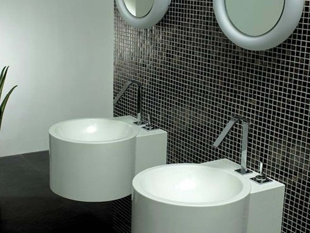 LOESS - contemporary - bathroom vanities and sink consoles