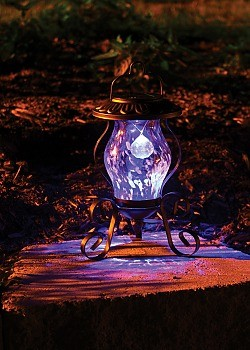 Solar Tabletop Reflector Lamp traditional outdoor lighting