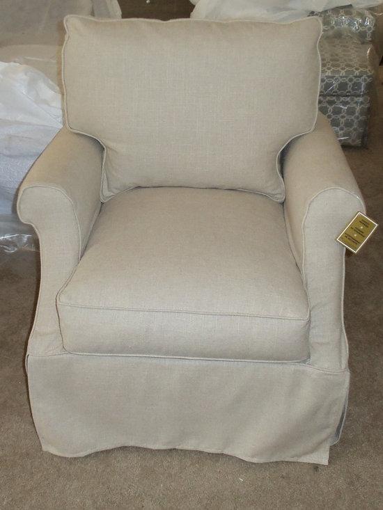 Customer Custom Orders - Robin Bruce Beatrix Slipcover Chair