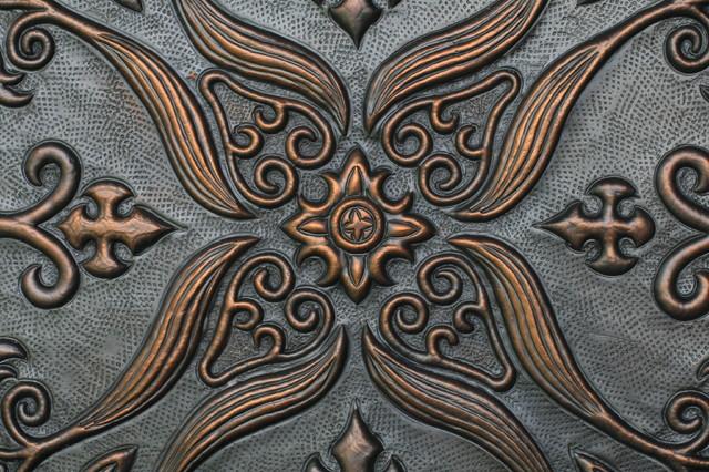 DXU Copper Tiles   Batavia Series traditional-tile