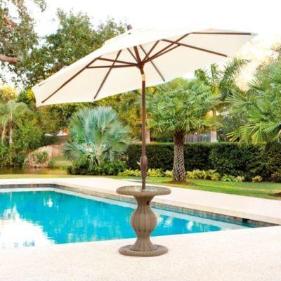 Sutton Umbrella Stand transitional-outdoor-umbrellas