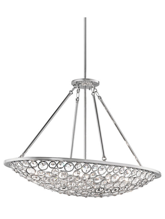 Oval Chandeliers - Kichler Liscomb Oval Chandelier - 42666CH