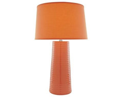 Lite Source Orange Peel Ceramic Table Lamp eclectic table lamps