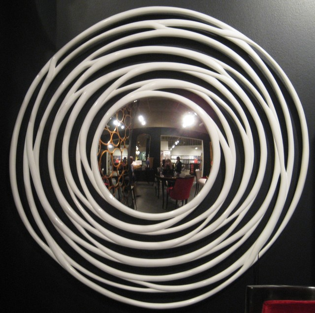 Robert Allen: Circular Mirror Frame  