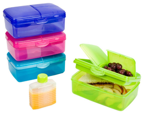 Slimline Quaddie Lunchbox contempor