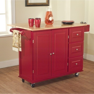 red kitchen cart island ] - kitchen carts kitchen islands work