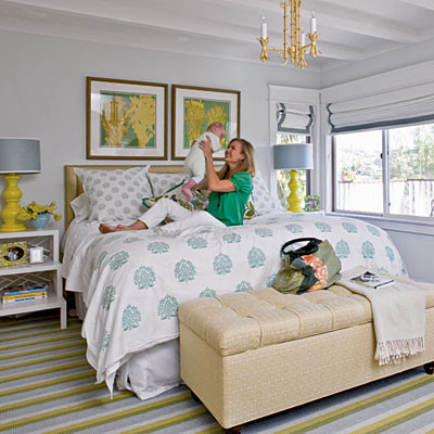 Accessorized Bedroom - 50 Comfy Cottage Rooms - Photos - CoastalLiving.com  