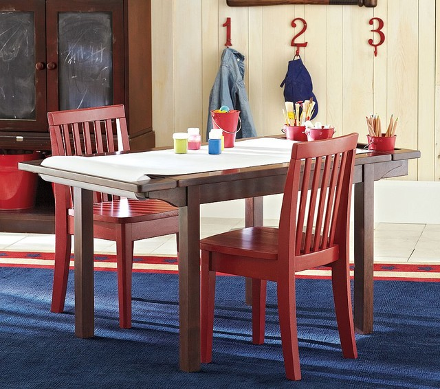 Carolina Expandable Craft Table traditional kids tables