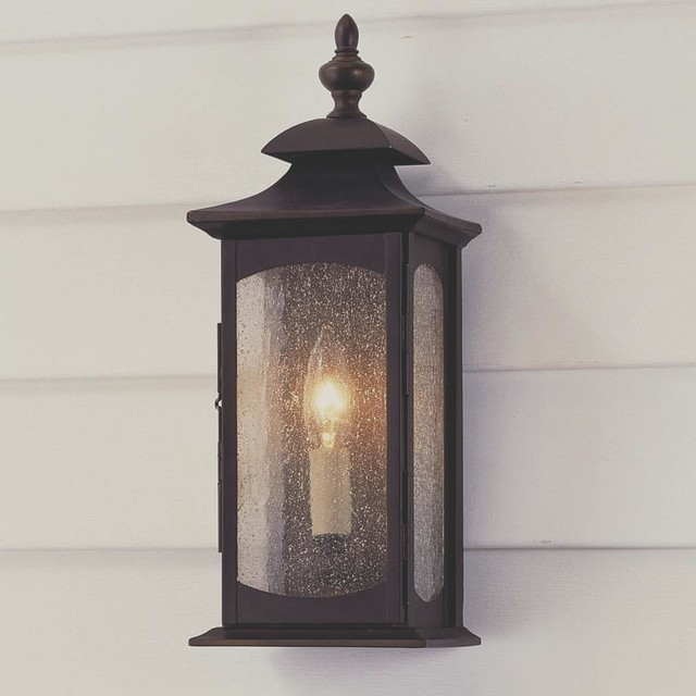 Coach Lantern Wall Lights : Updated Coach Lantern Outdoor Light - 1 Light - Outdoor Wall Lights And Sconces - by Shades of Light