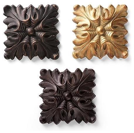 Square Tieback traditional-window-treatment-accessories
