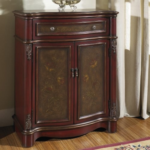 Pulaski Gramercy Hand Painted Hall Cabinet - Traditional - Storage Cabinets - by Hayneedle