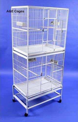 Double Stack Flight Bird Cage   modern   pet accessories     by