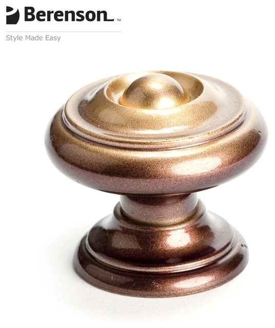 6996-106-C Traditional Style Bronze Decorative Cabinet Knob by Berenson - Traditional - Knobs ...