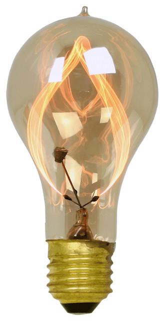 15W Carbon-filament Flicker Bulb eclectic-incandescent-bulbs