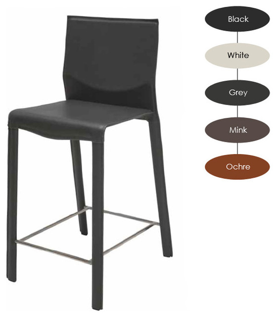 Ava Counter Stool, Grey contemporary-bar-stools-and-counter-stools