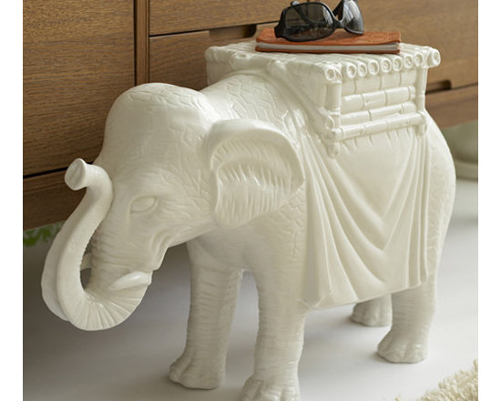 Elephant Side Table by Two's Company® -