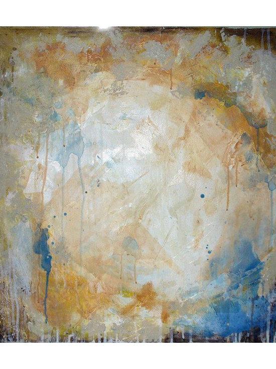 Earth, Wind and Water, panel II - Acrylic on canvas, 2' x 2'.