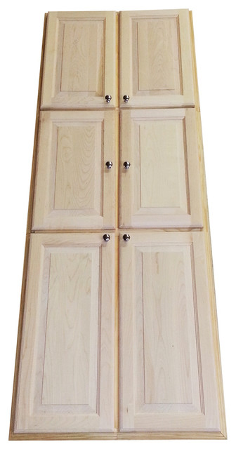 78-inch Recessed Dual Mount Baldwin Pantry Storage Cabinet - Contemporary - Storage Cabinets ...