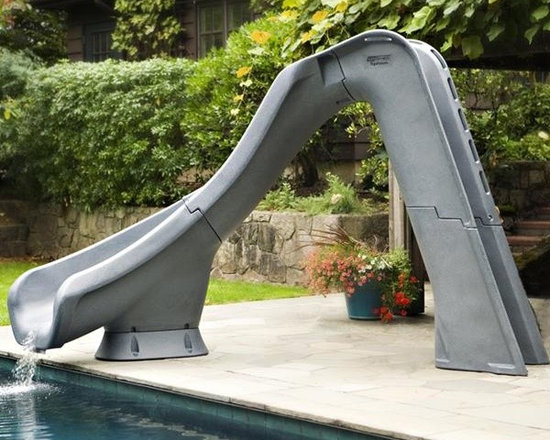 S.R. Smith Typhoon Pool Slide - Right Curve - -Stands 7 feet 4 inches tall