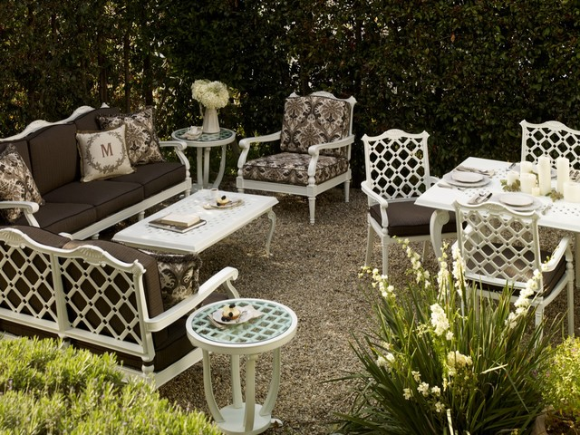 Glen Isle White traditional patio furniture and outdoor