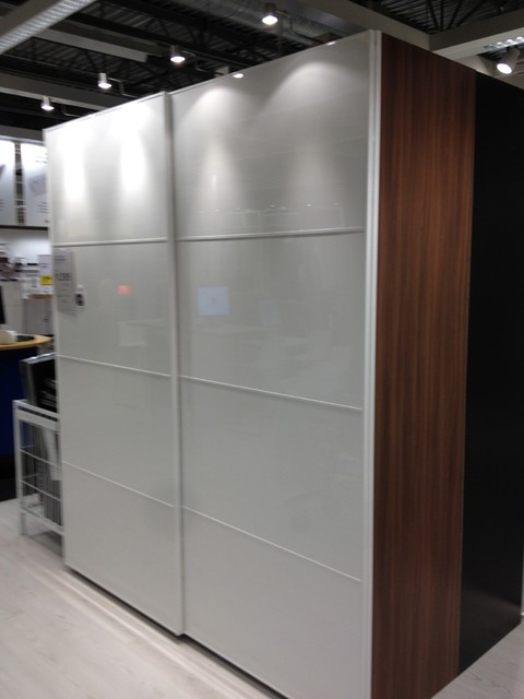 Ikea Wardrobe with sliding doors:$1395 inc. interior fittings. (Pax Anstad / Hig