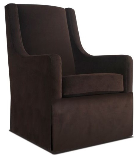Original Luxe Glider contemporary-rocking-chairs-and-gliders