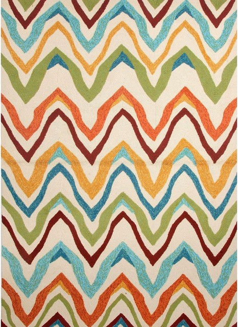Contemporary Outdoor Patio Rugs : Solid Multicolor IndoorOutdoor Rug contemporaryoutdoorrugs