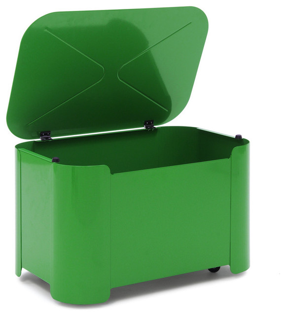 Green Toy Bin contemporary toy storage
