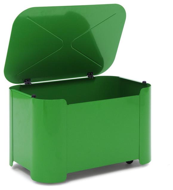 Green Toy Bin contemporary-toy-storage