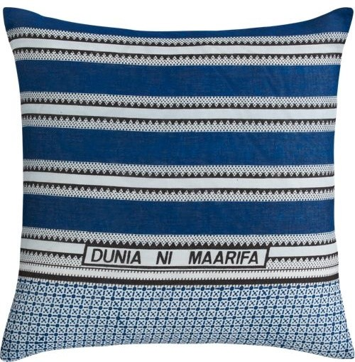 "dunia ni maarifa 23"" pillow modern-decorative-pillows"