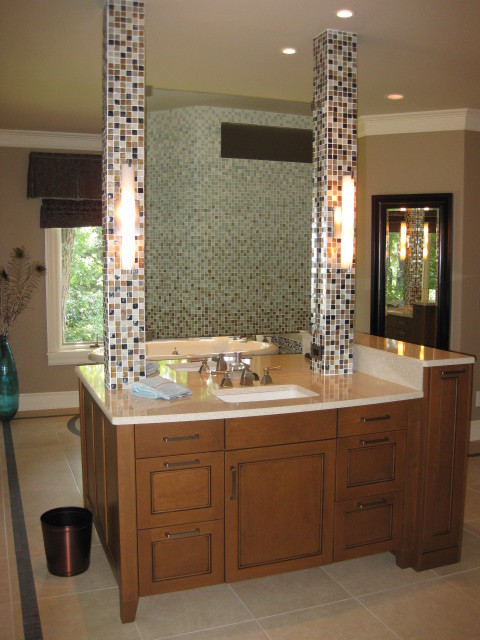 Cool 63inch Freestanding Double Espresso Wood Bathroom Vanity  Include