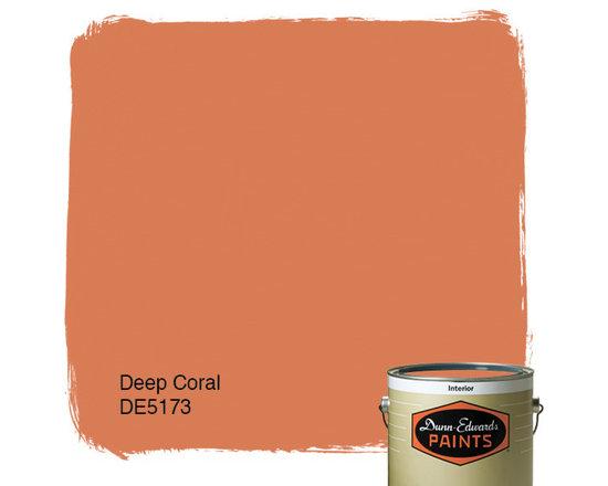 Dunn-Edwards Paints Deep Coral DE5173 -