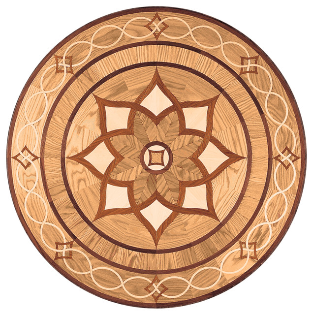 Oshkosh Designs Arizona Inlay Medallion Contemporary