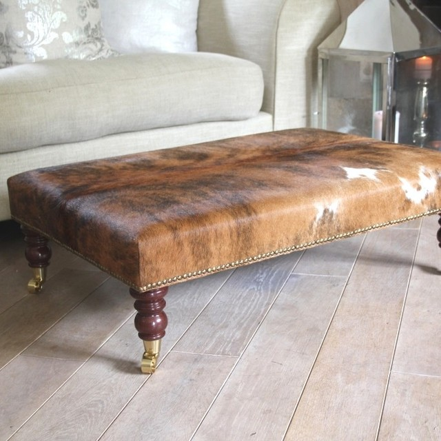 Photo Footstool Coffee Table Images Footstools Eclectic Coffee