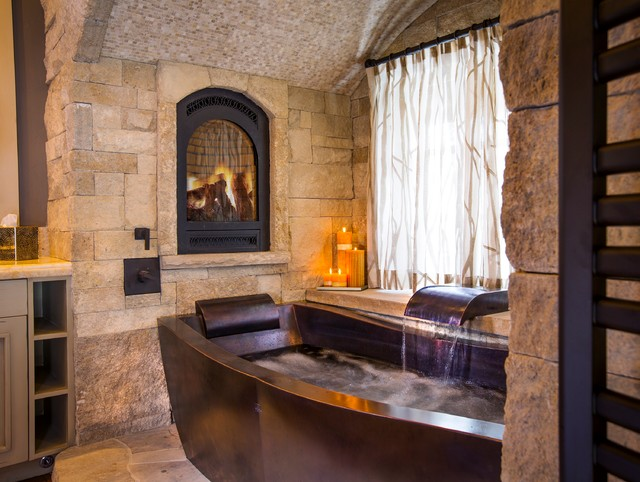Copper Soaking Tub Traditional Bathroom By Diamond Spas