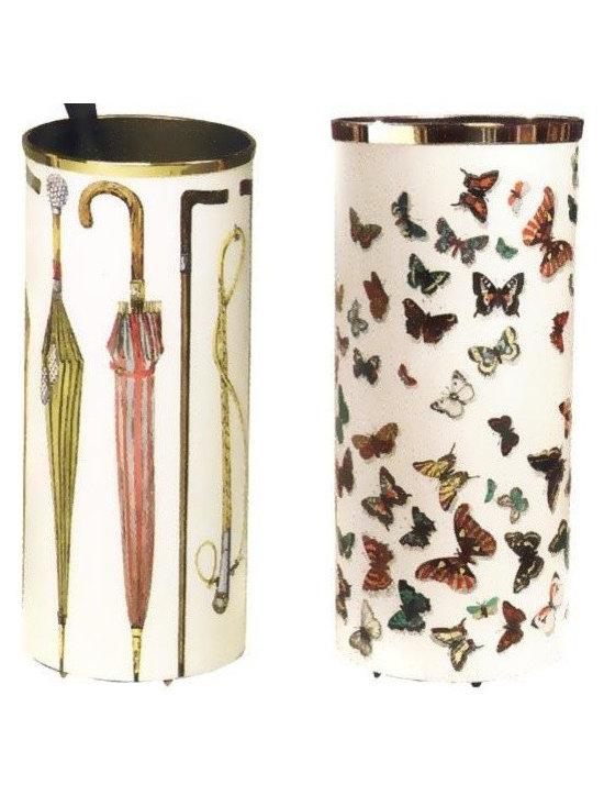 Farfalle Cylinder Umbrella Stand -