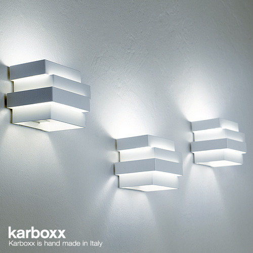 Karboxx Escape Cube Wall Lamp Los Angeles By