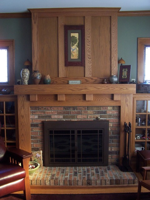 Fireplace Mantels - Craftsman - Fireplace Mantels - other metro - by Architectural Accents