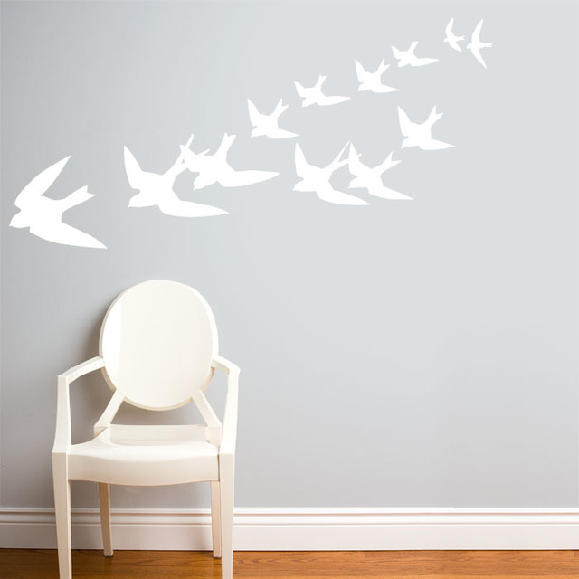 freedom in white wall decal modern wall decals by