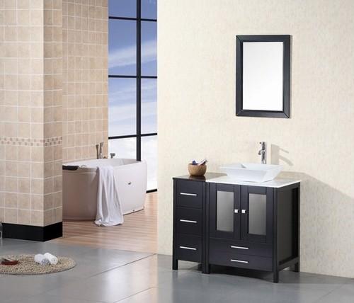 Modern Single Sink Vanity : ... 36