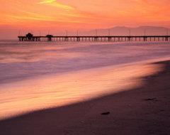 Venice Beach Pier, Los Angeles, California, USA Photographic Print by Richard Cu