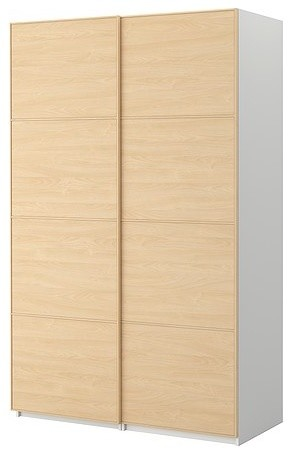 PAX Wardrobe with sliding doors modern-armoires-and-wardrobes