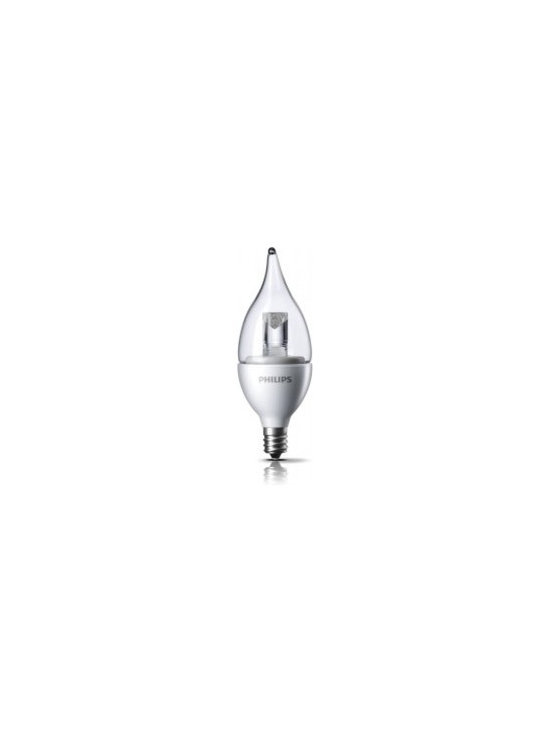 Current Top Sellers - Philips DecoLED (TM) Dimmable 25W Replacement BA11 Candle with Bent Tip Clear LED Light Bulb with Candelabra (E12) Base - Soft Warm White